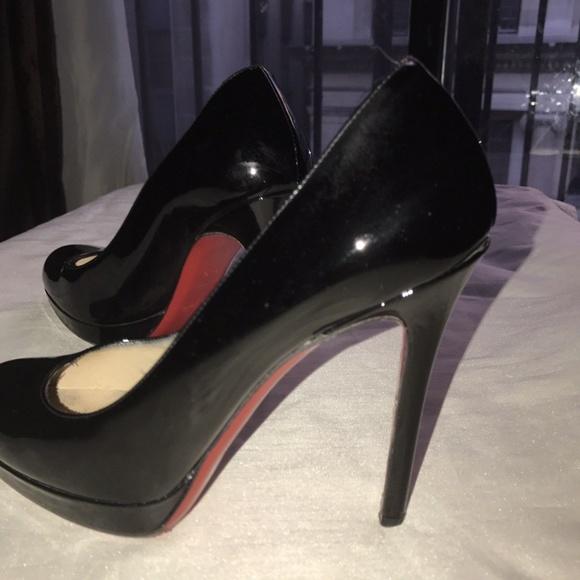 460d3177664f Christian Louboutin Shoes - CHRISTIAN LOUBOUTIN Black Patent Classic High  Heel